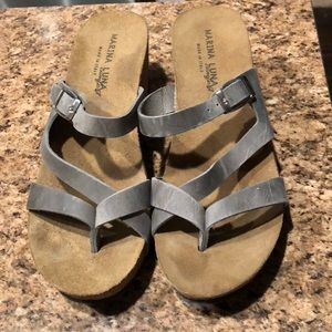 Shoes - Grey marina Luna made in Italy shoes